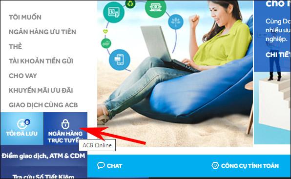 Quên mật khẩu ACB Online thì làm thế nào?