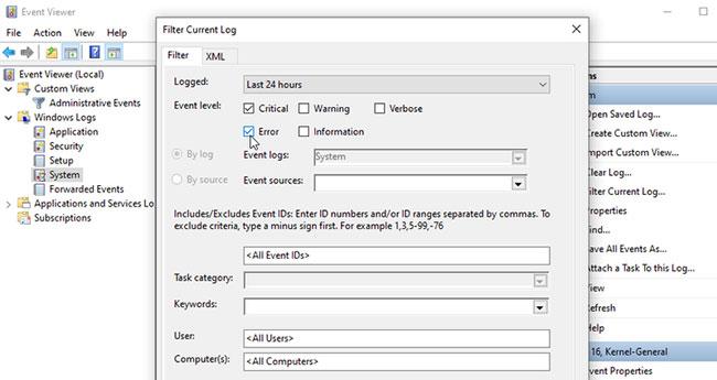 Cách khắc phục sự cố Windows bằng nhật ký Event Viewer - Ảnh minh hoạ 3