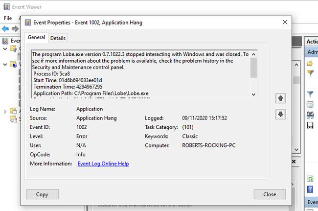 Cách khắc phục sự cố Windows bằng nhật ký Event Viewer - Ảnh minh hoạ 4
