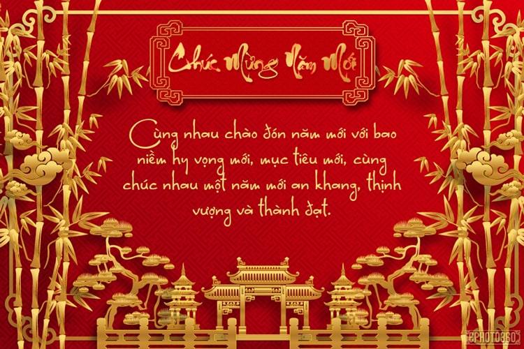 Thiệp chúc tết Tân Sửu