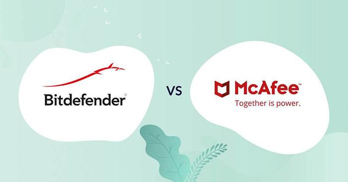 Sự khác biệt chính giữa McAfee và Bitdefender
