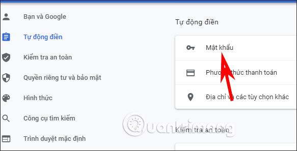 Xem mật khẩu Facebook Chrome