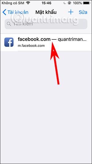 Cách xem mật khẩu Facebook trên điện thoại, máy tính - Ảnh minh hoạ 4