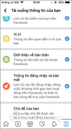 Cách tải dữ liệu Facebook về máy tính, điện thoại - Ảnh minh hoạ 2