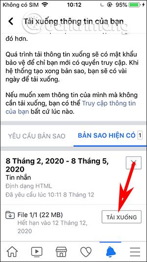 Cách tải dữ liệu Facebook về máy tính, điện thoại - Ảnh minh hoạ 4