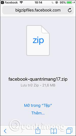 Cách tải dữ liệu Facebook về máy tính, điện thoại - Ảnh minh hoạ 6