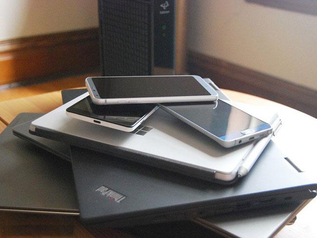 Tính tổng số lượng thiết bị cần kết nối