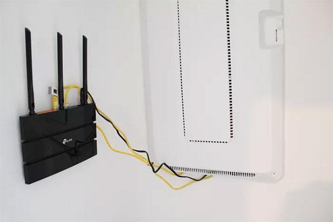 TP-Link Archer A9 có thể treo trên tường