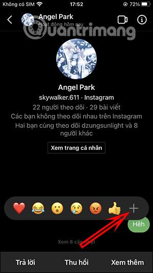 Cách đổi biểu tượng cảm xúc tin nhắn Instagram - Ảnh minh hoạ 2