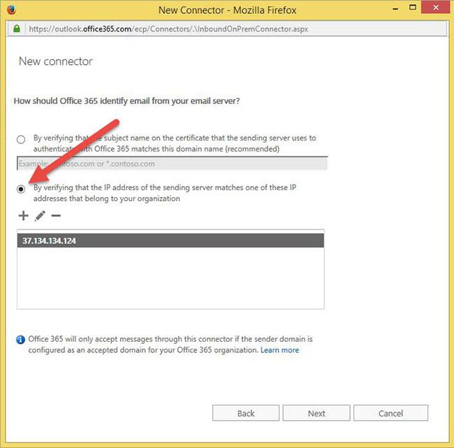 Cách gửi thông báo mail đến Office 365 - Ảnh minh hoạ 5