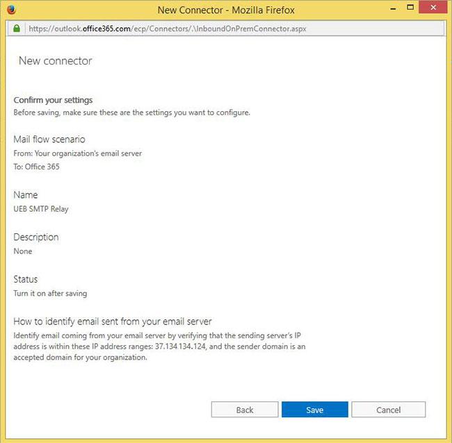 Cách gửi thông báo mail đến Office 365 - Ảnh minh hoạ 6