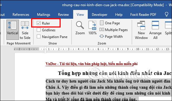 Cách chèn Block Quotes trong Word - Ảnh minh hoạ 3