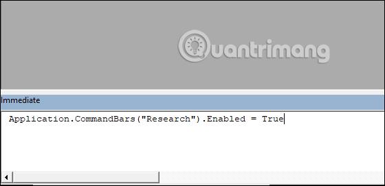 Cách tắt Research trong Excel - Ảnh minh hoạ 3