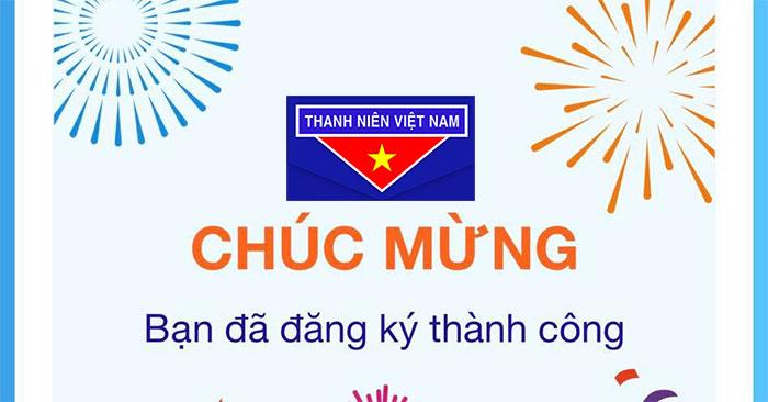 Cách đăng ký tài khoản app Thanh Niên Việt Nam
