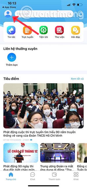 Cách thi trực tuyến trên app Thanh Niên Việt Nam