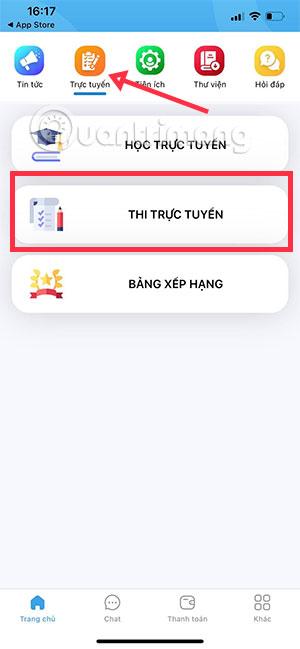 Cách thi trực tuyến trên app Thanh Niên Việt Nam - Ảnh minh hoạ 5