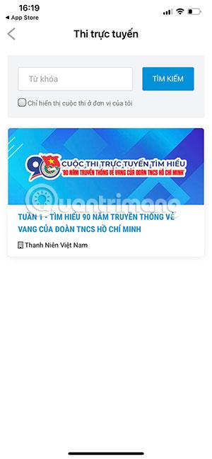 Cách thi trực tuyến trên app Thanh Niên Việt Nam - Ảnh minh hoạ 6