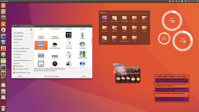 Move around the Ubuntu desktop