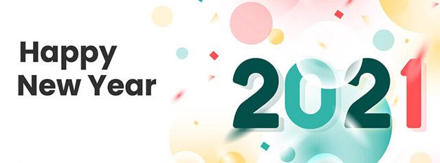 Ảnh bìa Facebook Chúc Mừng Năm Mới 2021 - Ảnh minh hoạ 11