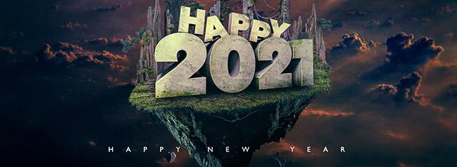 Ảnh bìa Facebook Chúc Mừng Năm Mới 2021 - Ảnh minh hoạ 4