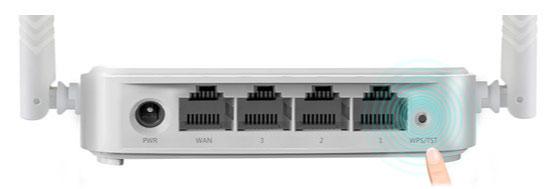 Thiết lập WiFi bảo mật với nút WPS