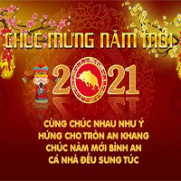40 Lời chúc Tết 2021 Tân Sửu, câu chúc năm mới 2021 đầy ý nghĩa