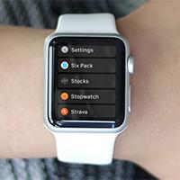 Cách thay đổi bố cục danh sách ứng dụng trên Apple Watch