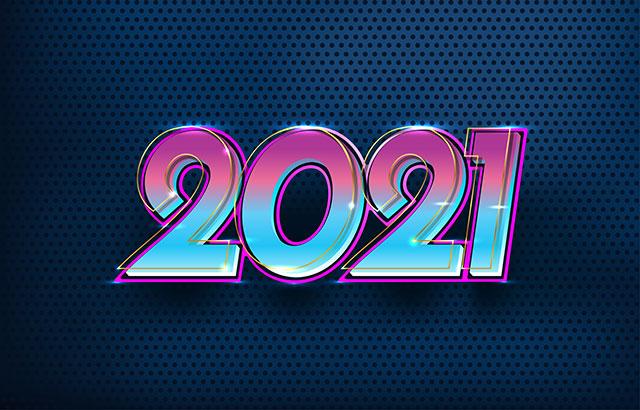 hình nền chúc mừng năm mới 2021