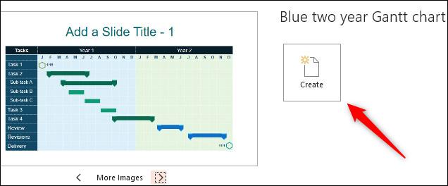 Cách vẽ biểu đồ Gantt trong PowerPoint - Ảnh minh hoạ 4