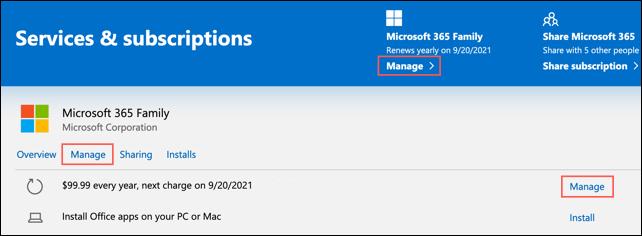 Cách tắt tự động gia hạn Microsoft 365 - Ảnh minh hoạ 3