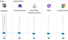 Cách tắt tiếng ứng dụng bất kỳ trên Windows 10