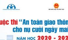 Cách đăng ký thi An toàn giao thông cho nụ cười ngày mai 2020 - 2021