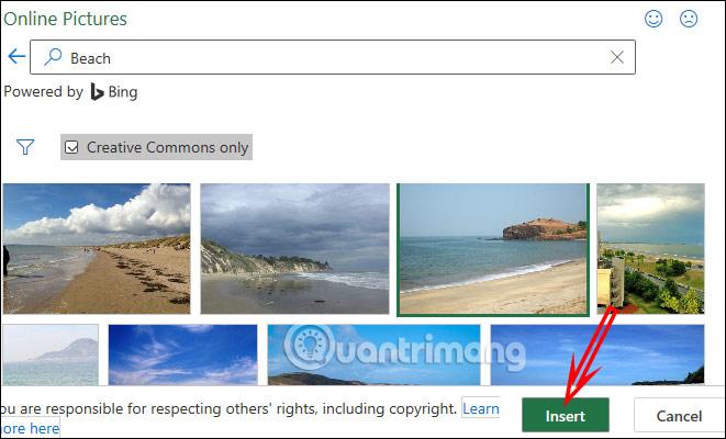 Hướng dẫn chèn một hình ảnh vào bảng tính Excel - Ảnh minh hoạ 4