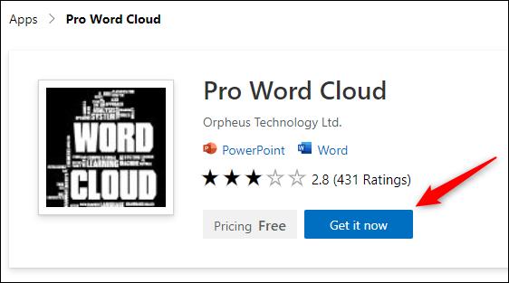 Cách tạo hiệu ứng chữ nghệ thuật 'Word Cloud' trong Microsoft PowerPoint