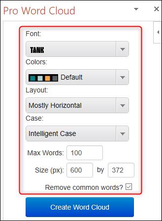 Cách tạo hiệu ứng chữ nghệ thuật 'Word Cloud' trong Microsoft PowerPoint - Ảnh minh hoạ 8