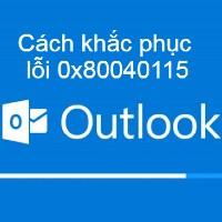 Khắc phục lỗi 0x80040115 của Microsoft Outlook trên Windows 10
