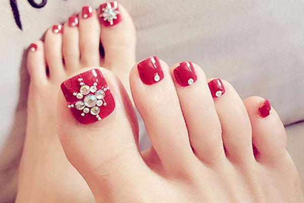 Mẫu nail chân đẹp