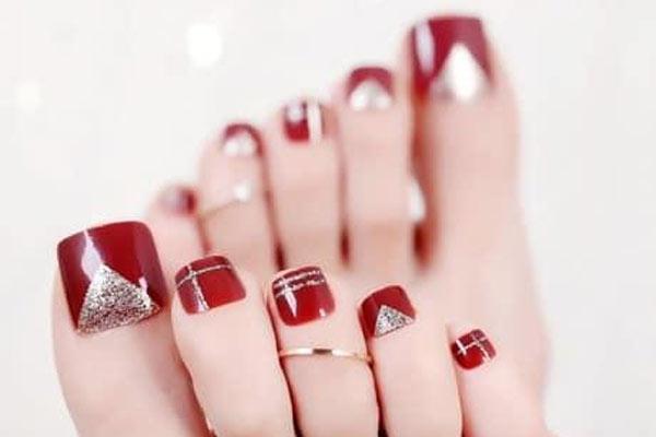 Mẫu nail chân đẹp 2