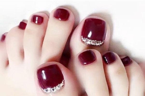 Mẫu nail chân đẹp 3