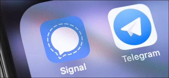 Signal và Telegram
