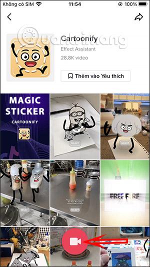 Cách quay video TikTok sticker đồ vật biết chuyển động - Ảnh minh hoạ 3