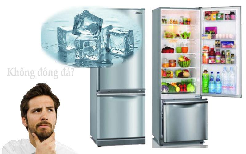 Bộ xả đá không hoạt động là lý do khiến tủ lạnh không đông đá được