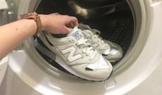 6 bước giặt giày bằng máy giặt không lo bị hỏng