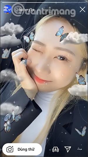 Cách quay video hiệu ứng con bướm trên Instagram - Ảnh minh hoạ 5