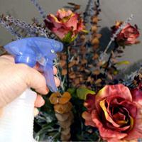 Cách vệ sinh hoa giả, hoa lụa đơn giản tại nhà