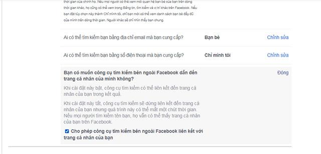 Cách ẩn tài khoản Facebook của bạn khỏi các công cụ tìm kiếm trên internet - Ảnh minh hoạ 5