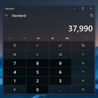 Cách để Calculator luôn nổi phía trên các ứng dụng Windows 10