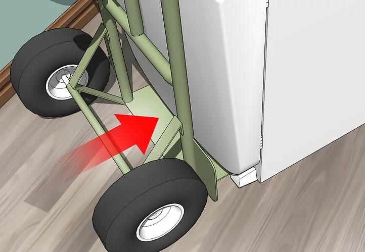Di chuyển tủ nhẹ nhàng và an toàn