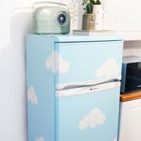 Biến tủ lạnh cũ thành tủ lạnh mới chỉ với cách đơn giản này