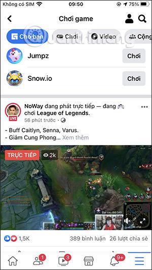 Cách tặng sao cho game thủ trên Facebook Gaming - Ảnh minh hoạ 3